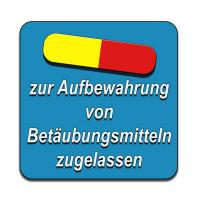 "Vorschau: Betäubungsmittel-Tresor ""Jena"" Sonderbreite (400 mm)"