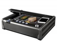 Vorschau: Master Lock Tresor mit Entriegelung per Fingerabdruck, Schlüssel oder elektronischem Kombinationssch