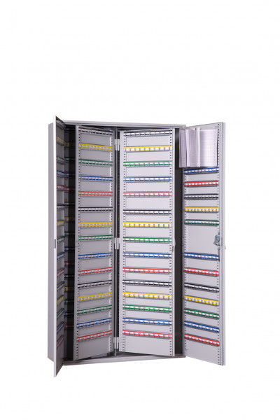 Großraumschlüsselschrank GLS-860 Haken 2.türig von ERZTECH Tresoranlagen
