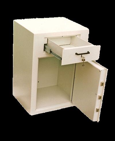 Deposit-Safe mit Schublade DT 6 von ERZTECH Tresoranlagen 1