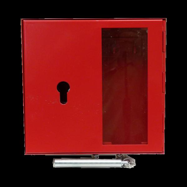 Notschlüsselkasten NSK-19S  Scheibe - Klöppel und vorgerichtet für Profilhalbzylinder von Hautmann