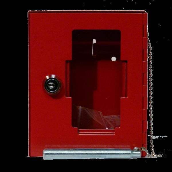 Notschlüsselkasten NSK-16 Glasscheibe mit Klöppel von Hautmann Tresore