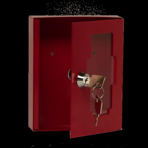 Notschlüsselkasten NSK-15 mit Glasscheibe von Hautmann Tresore